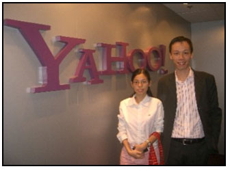 Kelvin Hui partnership with Yahoo
